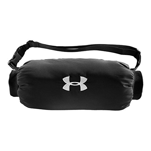 Panthers Carolina Pitcher - Under Armour Men's Undeniable Handwarmer, Black/Black, One Size