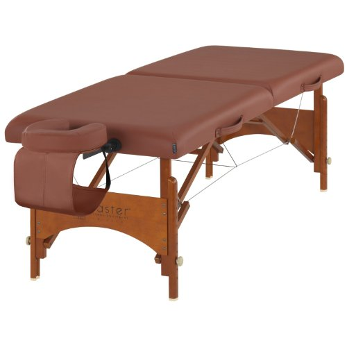 Master Massage 28 Inch Fairlane Portable Massage Table Package, Cinnamon Color, The Classic Regulation (Classic Massage Table)