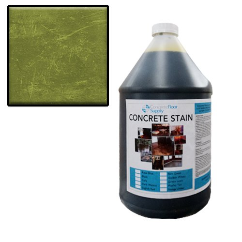 Concrete Acid Stain   Fern Green 1 Gallon