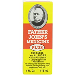 Father John's Cough Medicine Plus, 4 Ounce