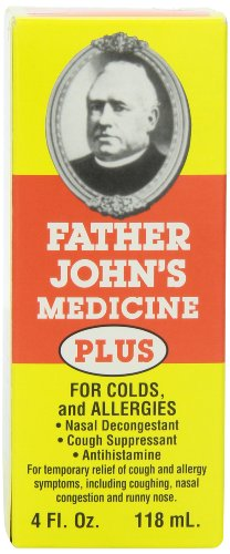 Father John's Cough Medicine Plus, 4 Ounce