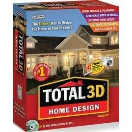 Individual Software Total 3D Home Design Deluxe 9