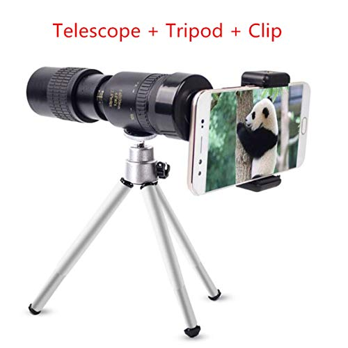 Original Binoculars 10-30X25 Zoom Monocular Telescope Pocket Binoculo Hunting Optical Prism Scope with Tripod one Set