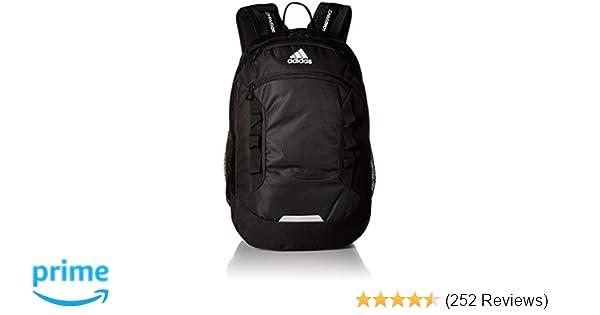amazon com adidas 975654 excel iii backpack, black, one size  amazon com adidas 975654 excel iii backpack, black, one size sports \u0026 outdoors
