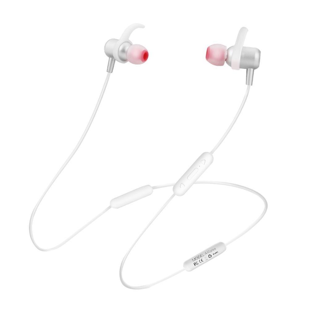 Auriculares Inalámbricos Bluetooth Sports Bluetooth 4.2 Auriculares Neckband con Micrófono para iPhone / Samsung Auriculares Fitness (Black)