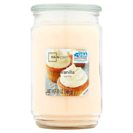 Mainstays Candle Vanilla 20 oz