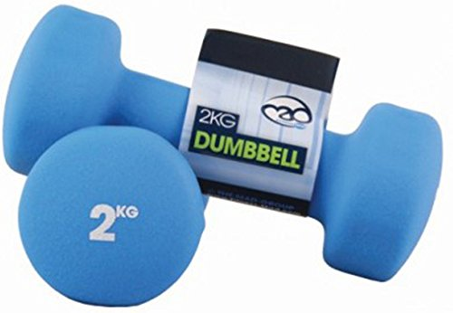 Fitness Mad Neoprene Dumbbells 2.0 Kg - Blue