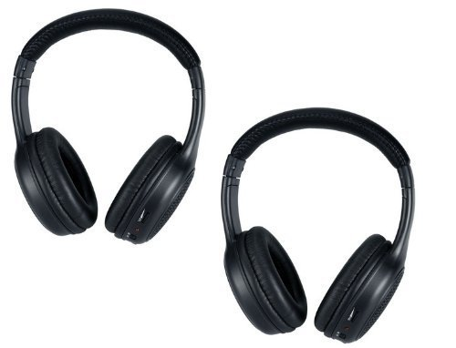 Wireless Headphones for the Infiniti QX DVD Player System - 2 Programmed IR Headsets ()