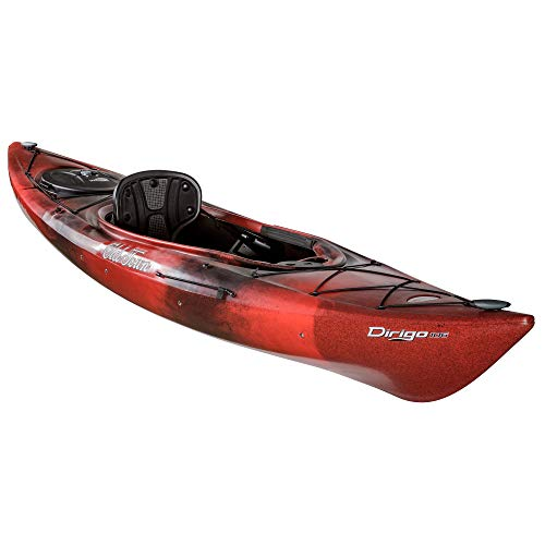 Old Town Dirigo 106 Recreational Kayak, Black Cherry, 10 Feet 6 Inches