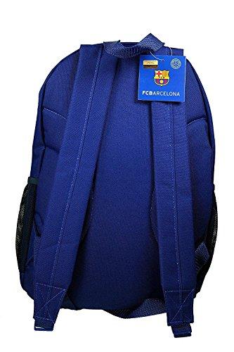 FC Barcelona backpack school mochila bookbag cinch shoe bag official (new Barca set) by F.C. Barcelona (Image #2)