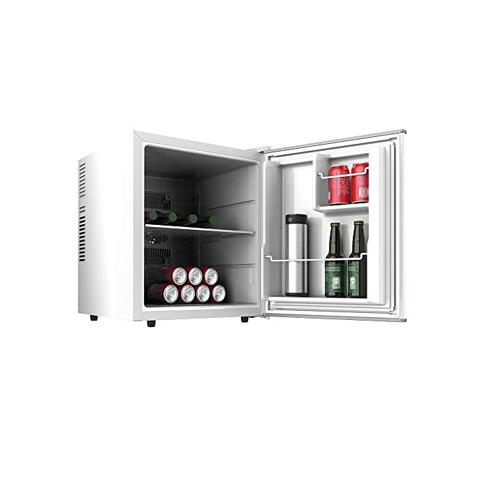 Cecotec mini bar GrandCooler 10000 Silent White, de 46 L de capacidad, eficiencia energética A+, tecnología…