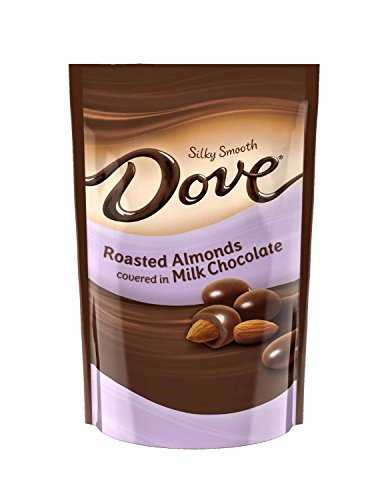 Dove Milk Chocolate Almond Candy, 4.5 Ounce Bag (Pack of 4)