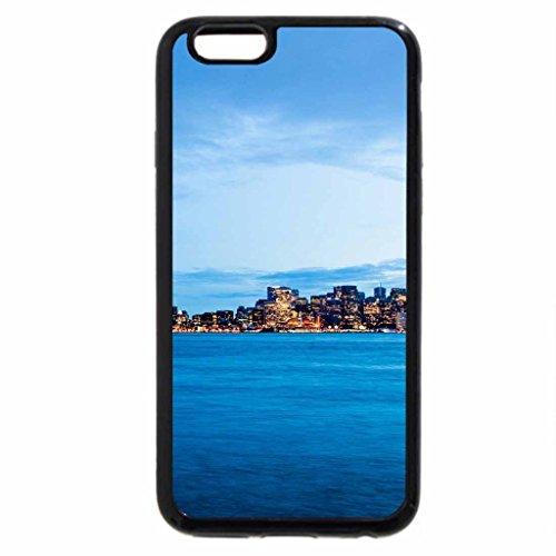 iPhone 6S / iPhone 6 Case (Black) bay bridge to frisco at dusk