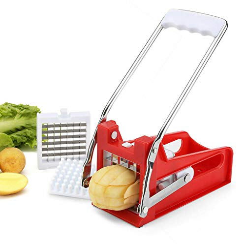 MSOO Blades Chrome Plated Potato French Fry Chipper Chips Cutter