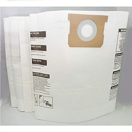 10-14 Gallons Shop-Vac 906-62 Collector Filter Bags