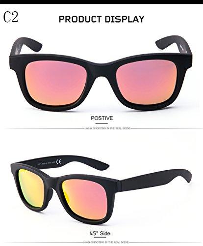 De Protección Mujer para 400 para Hombre Aviator C5 Polarizadas C2 UV Gafas Sol dqFYTxXwd8