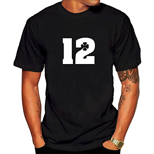 Andrew Luck 12 Graphic Tee Men's Short Sleeve T-Shirt black