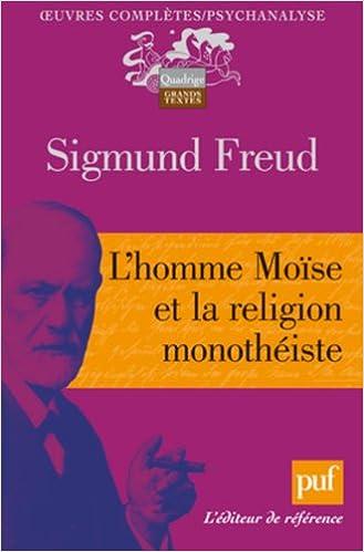 Livre L'homme Moïse et la religion monothéiste epub, pdf