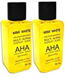 MiMi White AHA SERUM 30 ml. Whitening Skin,Bleaching Remove Dark Spot (2 Pcs)