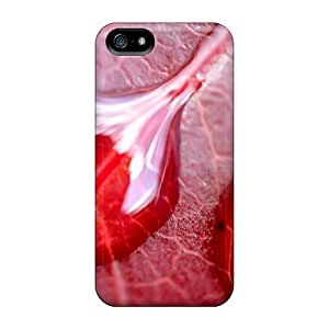 Slim Fit Tpu Protector Shock Absorbent Bumper Drops Of Water Case For Iphone 5/5s
