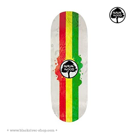 "最新到貨 Berlinwood Complete ""Rasta Rally"" White"