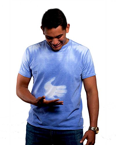 Shadow Shifter Adult Color Changing T Shirt Heat Sensitive Blue To White M