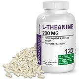 Bronson L-Theanine 200mg Non-GMO Gluten Free Soy Free Formula, 120 Vegetarian Capsules For Sale