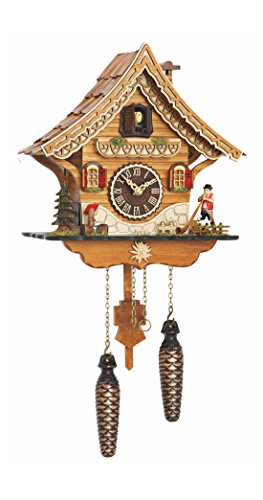 - Trenkle Quartz Cuckoo Clock Swiss House with Music TU 4204 QM