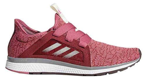 adidas Women's Edge Lux Running Shoe, Noble Maroon/Night Red/Shock Pink, 11 M US