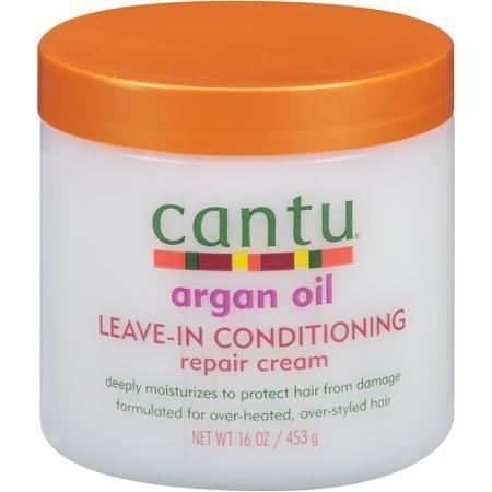 Cantu Argan Oil Leave-In Conditioning Repair Cream 16oz