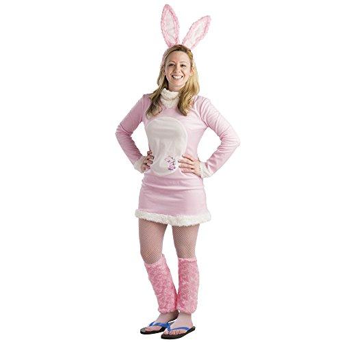 [Women's Energizer Bunny Dress Costume - Size Medium] (Energizer Bunny Costumes)