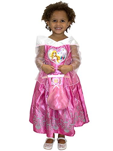 Disney Girls Sleeping Beauty Dress Up Costume with