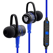 Ant Audio H56 Bluetooth Metal in Ear Stereo Bass Headphone (Blue)