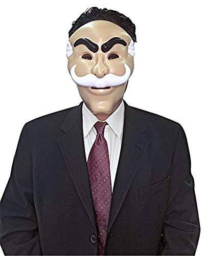 Mr Robot Mask Costume Accessory -