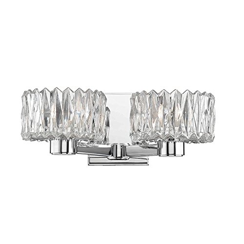 Hudson Valley Lighting 2172-PC Two Light Bath Bracket from The Anson Collection, 2, Polished Chrome
