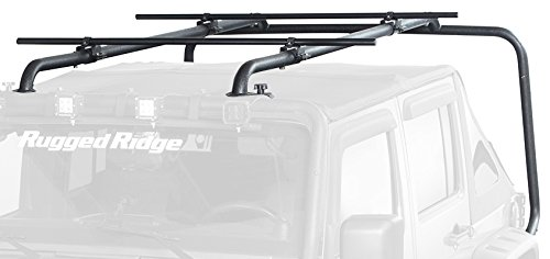 Rugged Ridge 11703.22 Sherpa Roof Rack Kit for Jeep Unlimited JK Wrangler (4-Door)