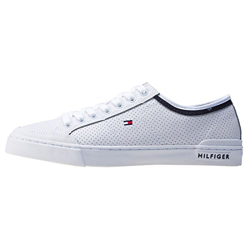 Tommy Hilfiger Uomo Bianco Harrington 5A Sneakers bianco