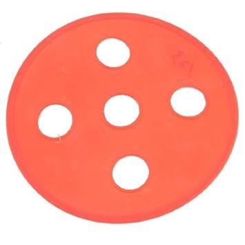 Kunststoff Trockner Blende Fur Waschmaschine 190mm Dia Orange Rot