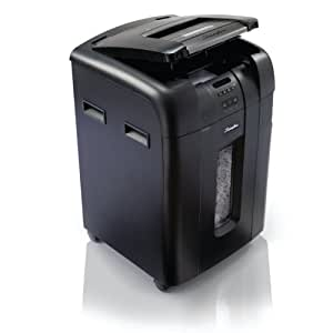 Swingline Auto Feed Paper Shredder, 500 Sheets, Super Cross-Cut, 10-20 Users, Stack-and-Shred 500X (1757577)