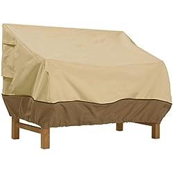 Classic Accessories Veranda Patio Bench Cover - Durable and Water Resistant Patio Set Cover, Medium (55-646-011501-00)
