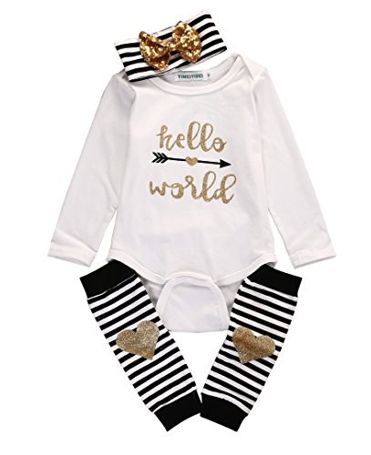 4pcs-baby-hello-world-print-romper-leg-warmers-hairband-outfit-clothes-03months