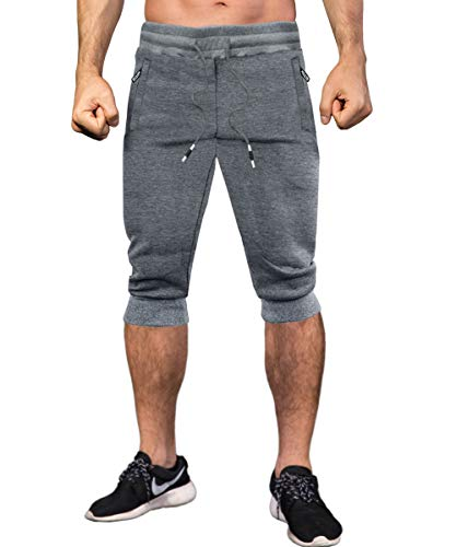 MAKEIIT Run Shorts Men Gym Workout Shorts Men Jogger Shorts Bulk Running Shorts Guys Gym Shorts