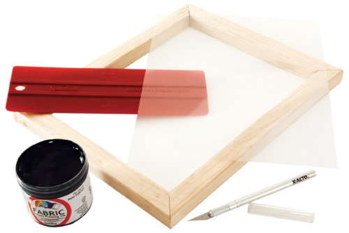 Speedball Basic Screen Printing Kit for Stencil Method (45030)]()