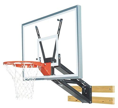 Bison PKG275 QuickChange Acrylic Wall Mounted Adjustable Basketball Hoop by Bison (Image #2)
