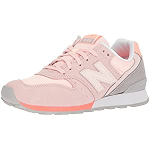 New Balance Women's 696 v1 Sneaker,Sunrise Glo/Fiji,9.5 B US