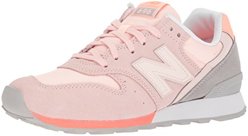 New Balance Women's 696 v1 Sneaker,Sunrise Glo/Fiji,105 B US