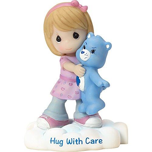 Precious Moments Company 163416 Precious Moments, Care Bears, Hug with Care, Resin Figurine, 163416,Multi