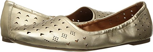 Franco Sarto Women's Brewer Flat,Rich Gold Leather,US 8 (Gold Brewers)