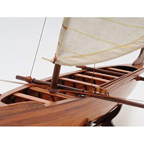 Old Modern Handicrafts Handicrafts Hawaiian Canoe Collectible