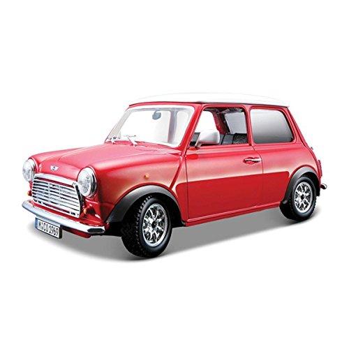 Mini Cooper (1969) Diecast Model 1:24 Scale Mr Bean Style